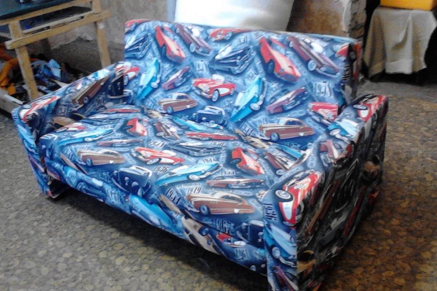 Перетяжка дивана №10