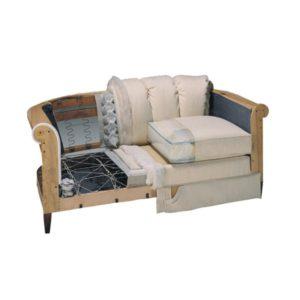 Перетяжка диванов и ремонт мягкой мебели