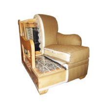 Ремонт кресел и перетяжка мягкой мебели